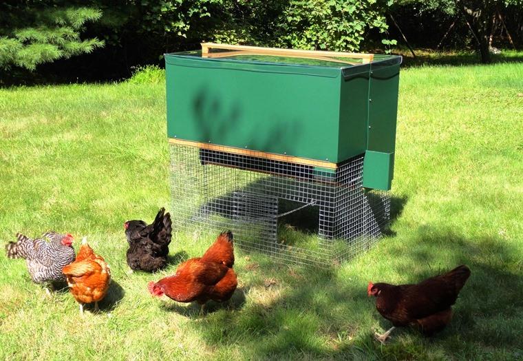 Halflap Henhouse Mobile Chicken Coop